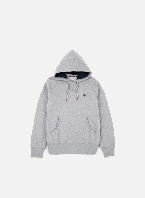 felpe timberland exeter river hoodie medium grey heather