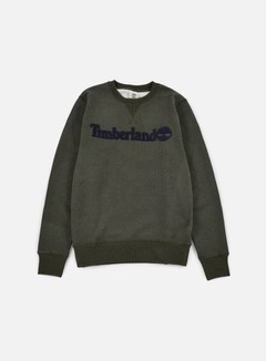 Timberland - Exeter River Timberland Crewneck, Dark Cilantro Heather 1