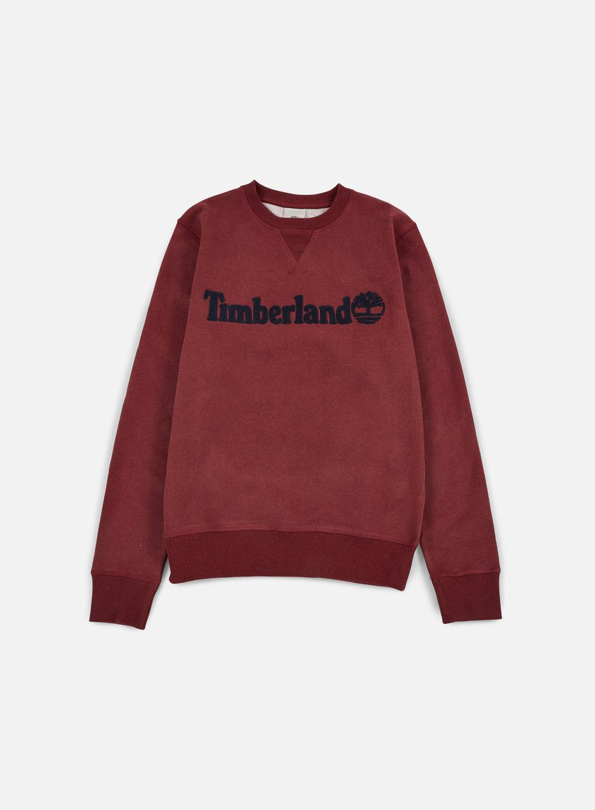 Timberland - Exeter River Timberland Crewneck, Dark Port Heather