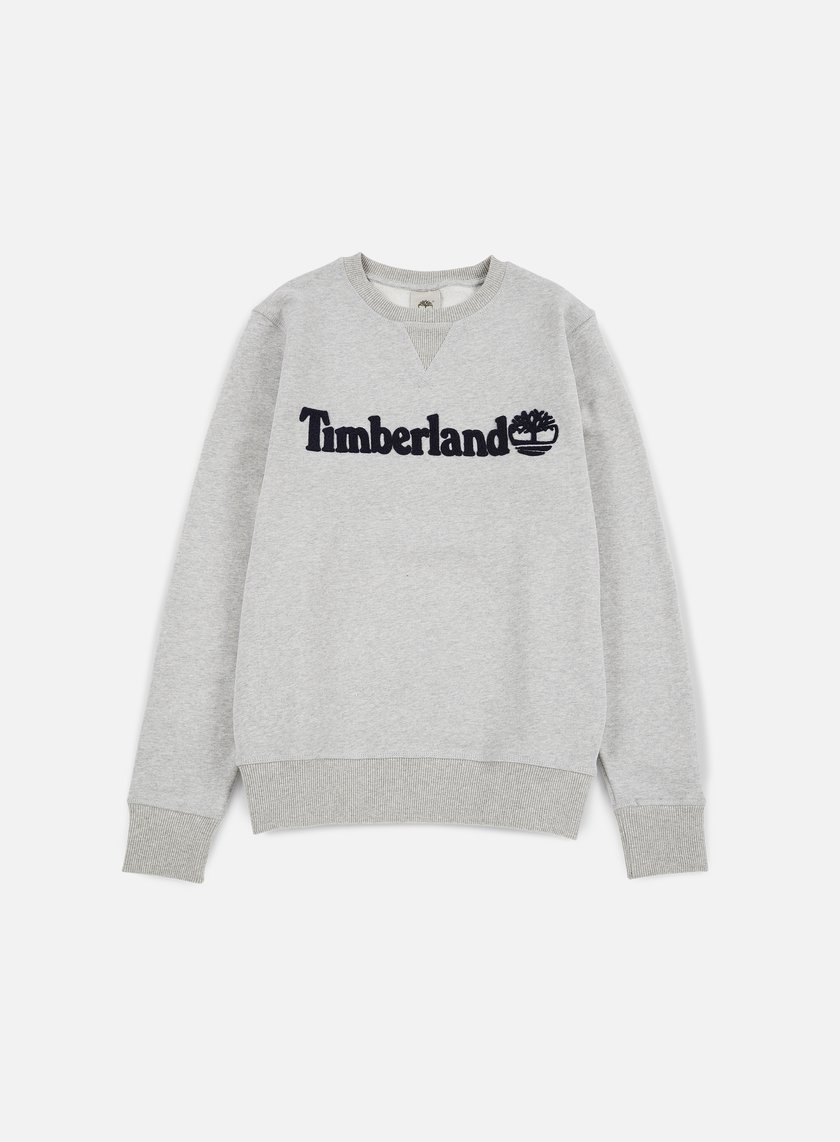 Timberland - Exeter River Timberland Crewneck, Medium Grey Heather