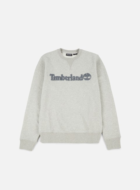 felpe timberland taylor river crewneck medium grey heather
