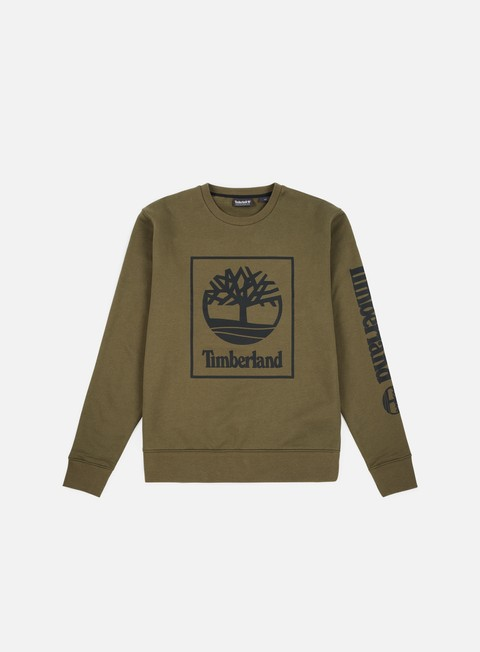 felpe timberland tree seasonal crewneck grape leaf