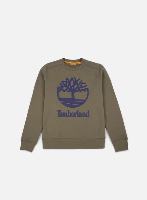 Sale Outlet Crewneck Sweatshirts Timberland Tree Stacked Crewneck