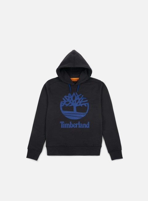 felpe timberland tree stacked hoodie black