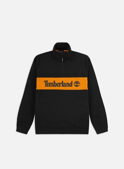 Felpe con Zip Timberland YC C&S Funnel Mock Neck