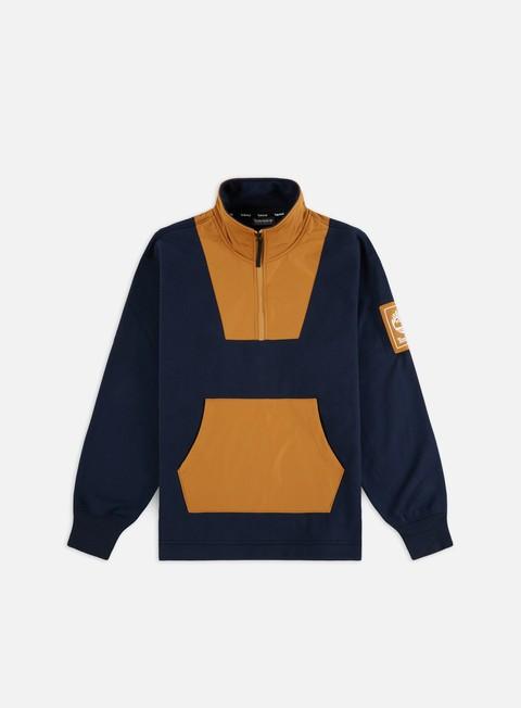 Outlet e Saldi Maglioni e Pile Timberland YCC Half Zip Mix Media Fleece Jacket
