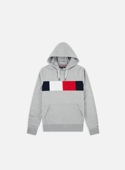 Hooded Sweatshirts Tommy Hilfiger Flag Chest Insert Hoodie