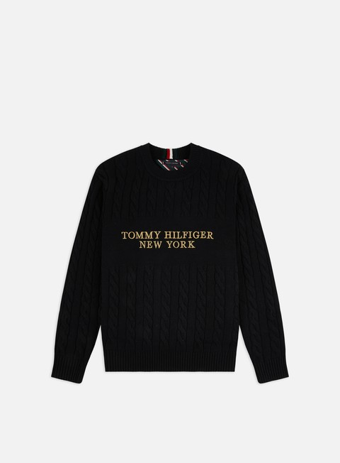 Tommy Hilfiger Graphic Cable Sweater