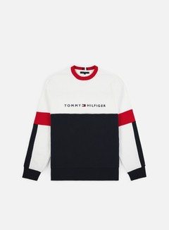 Tommy Hilfiger Relaxed Stripe Crewneck