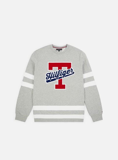 Logo Sweatshirts Tommy Hilfiger Script Logo Crewneck