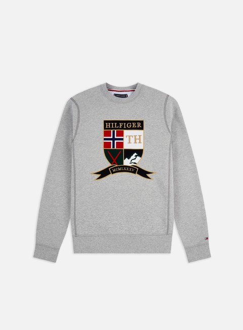 Outlet e Saldi Felpe Girocollo Tommy Hilfiger Shield Artwork Crewneck
