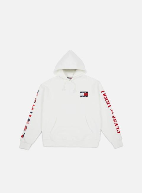 felpe tommy hilfiger tj 90s hknit hoodie bright white
