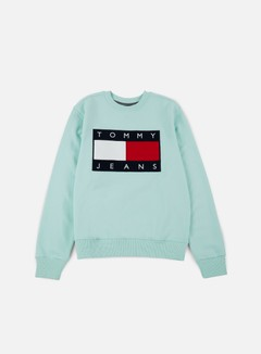 Tommy Hilfiger - TJ 90s Sweatshirt Crewneck, Dusty Acqua