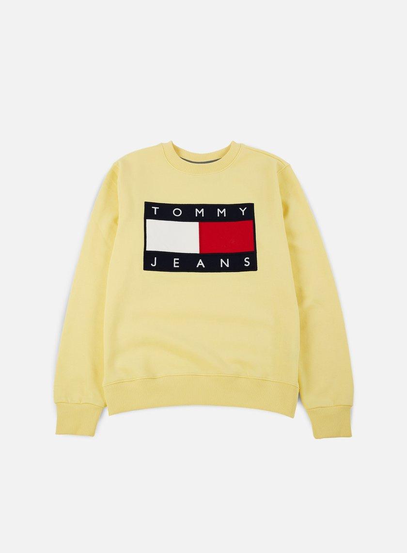 Tommy Hilfiger - TJ 90s Sweatshirt Crewneck, Lemon Meringue