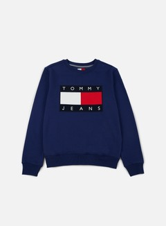 Tommy Hilfiger - TJ 90s Sweatshirt Crewneck, Medieval Blue