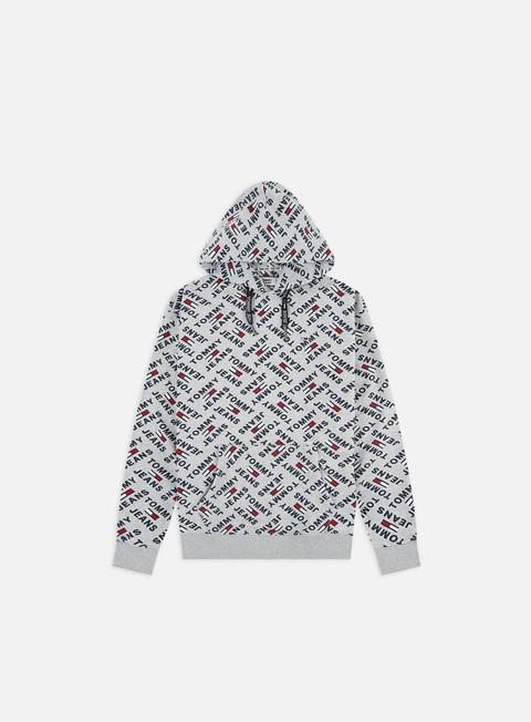 Hooded Sweatshirts Tommy Hilfiger TJ Allover Print Hoodie