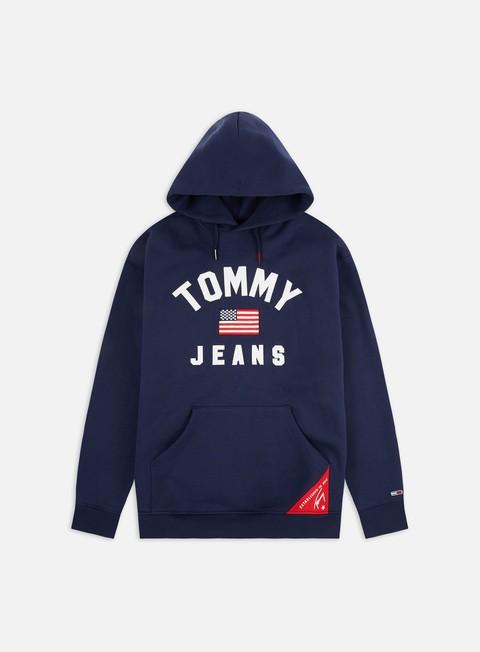 Outlet e Saldi Felpe con Cappuccio Tommy Hilfiger TJ Americana Hoodie