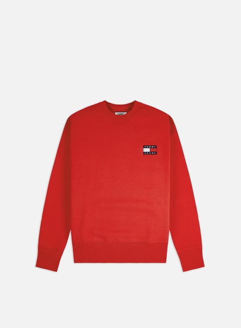 Crewneck Sweatshirts Tommy Hilfiger TJ Badge Crewneck