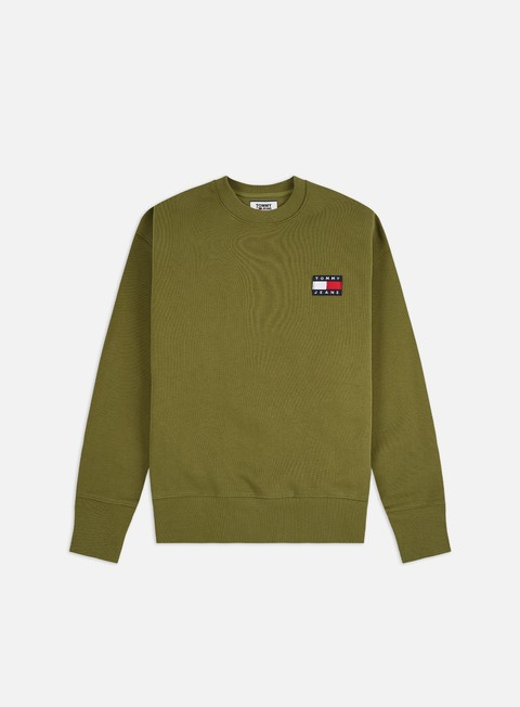 Outlet e Saldi Felpe Girocollo Tommy Hilfiger TJ Badge Crewneck