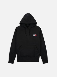 Tommy Hilfiger - TJ Badge Hoodie, Tommy Black