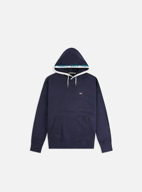 Hooded Sweatshirts Tommy Hilfiger TJ Branded Rib Hoodie
