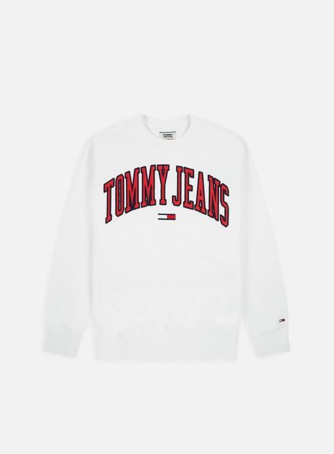 Logo Sweatshirts Tommy Hilfiger TJ Clean Collegiate Crewneck