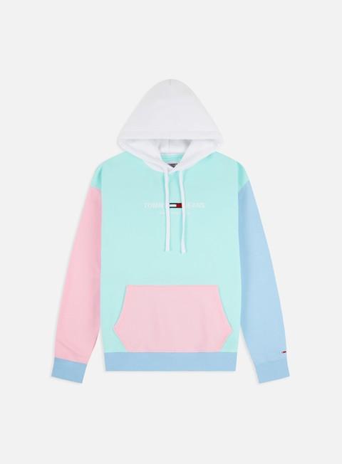 Hooded Sweatshirts Tommy Hilfiger TJ Color Block Hoodie