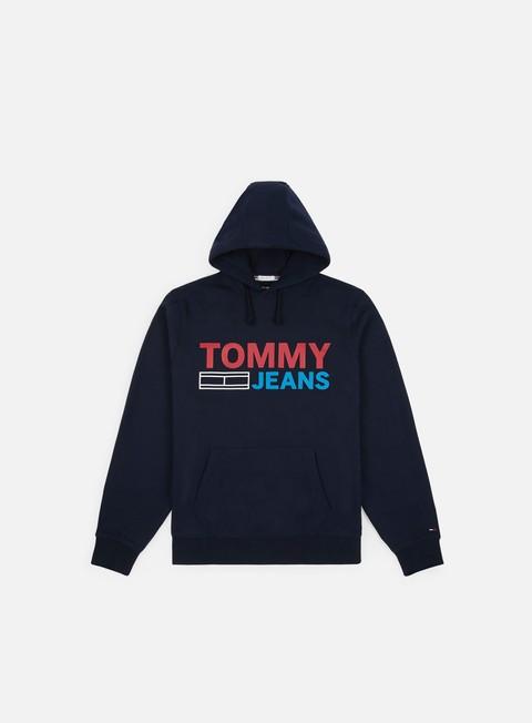 Felpe con Cappuccio Tommy Hilfiger TJ Corp Logo Hoodie