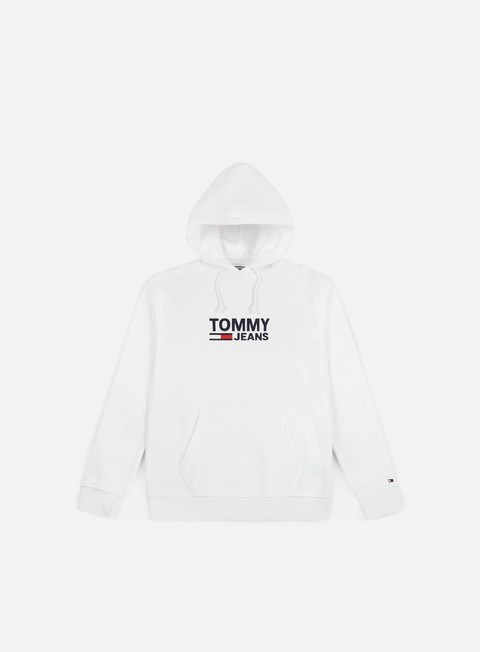 Sale Outlet Hooded Sweatshirts Tommy Hilfiger TJ Corp Logo Hoodie