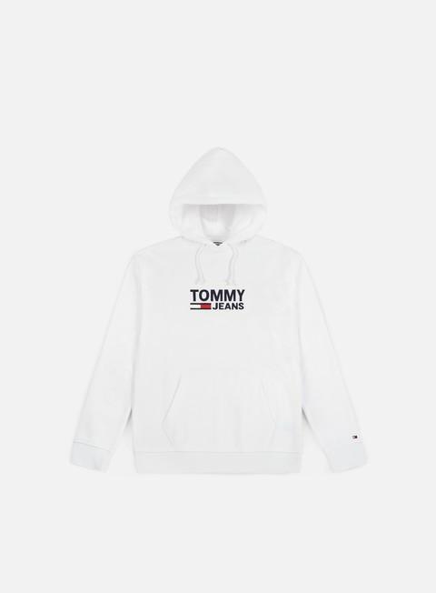felpe tommy hilfiger tj corp logo hoodie classic white