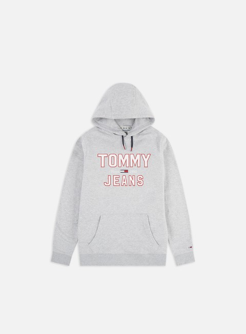 Outlet e Saldi Felpe con Cappuccio Tommy Hilfiger TJ Essential 1985 Logo Hoodie