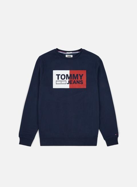 Felpe Girocollo Tommy Hilfiger TJ Essential Logo Sweatshirt
