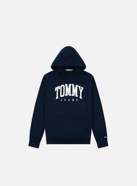 Outlet e Saldi Felpe con Cappuccio Tommy Hilfiger TJ Essential Tommy Hoodie
