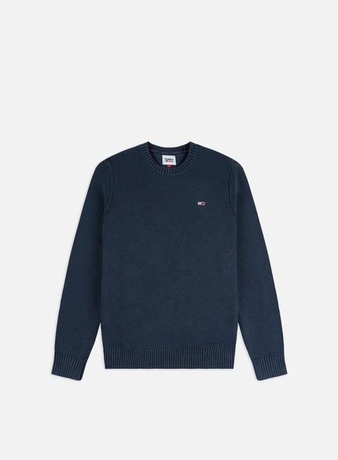 Outlet e Saldi Maglioni e Pile Tommy Hilfiger TJ Essential Washed Sweater