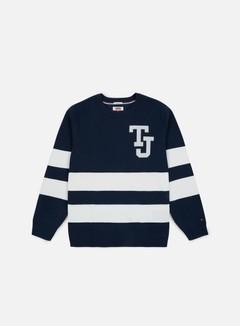 Tommy Hilfiger TJ Logo Stripe Sweater