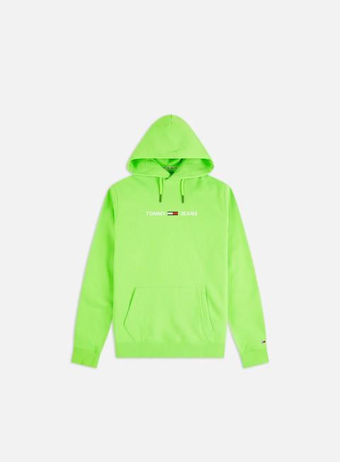 Felpe con Cappuccio Tommy Hilfiger TJ Neon Small Logo Hoodie