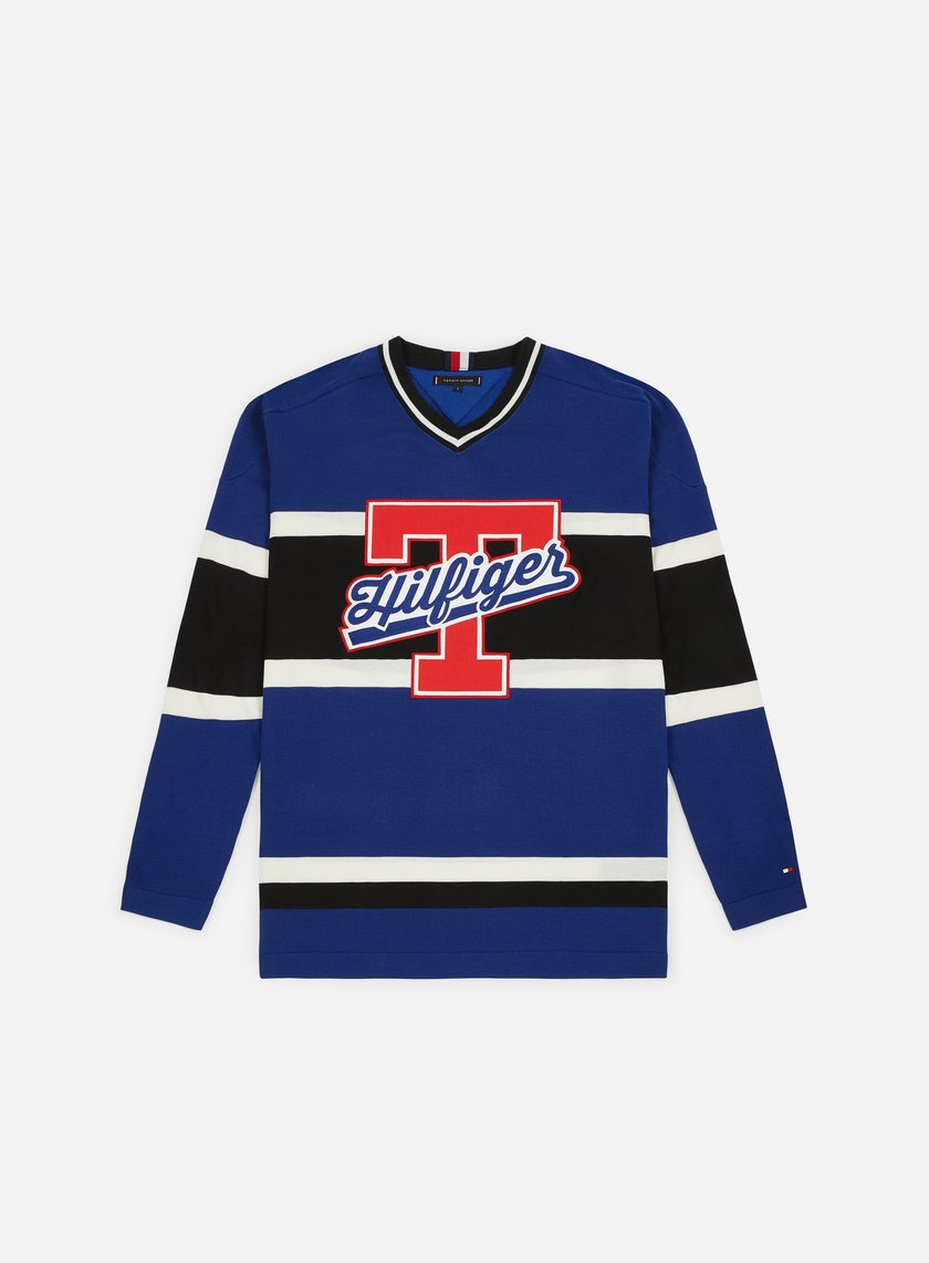 e87cc6a53 TOMMY HILFIGER TJ Oversized Hockey Jersey € 70 Sweaters and Fleeces ...