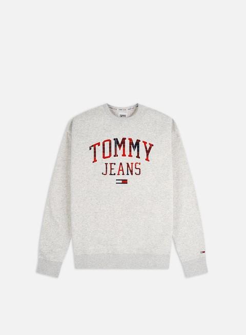 Crewneck Sweatshirts Tommy Hilfiger TJ Plaid Tommy Graphic Crewneck