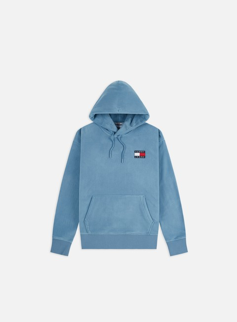 Outlet e Saldi Felpe con Cappuccio Tommy Hilfiger TJ Polar Fleece Badge Hoodie