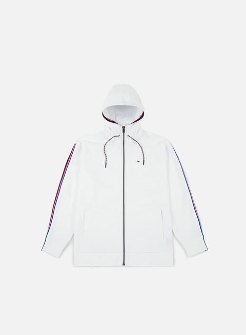 felpe tommy hilfiger tj racing stripe track hoodie classic white