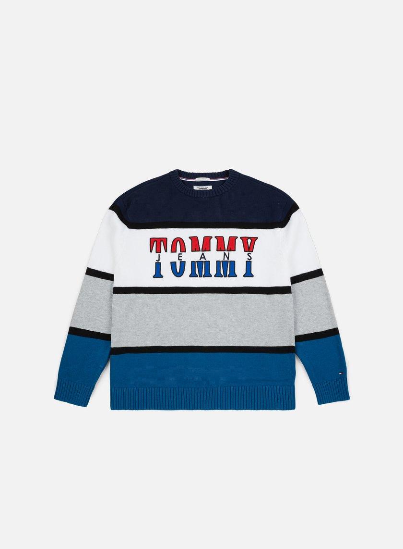 3508e8c6d57e87 TOMMY HILFIGER TJ Retro Colorblock Sweater € 83 Sweaters and Fleeces ...