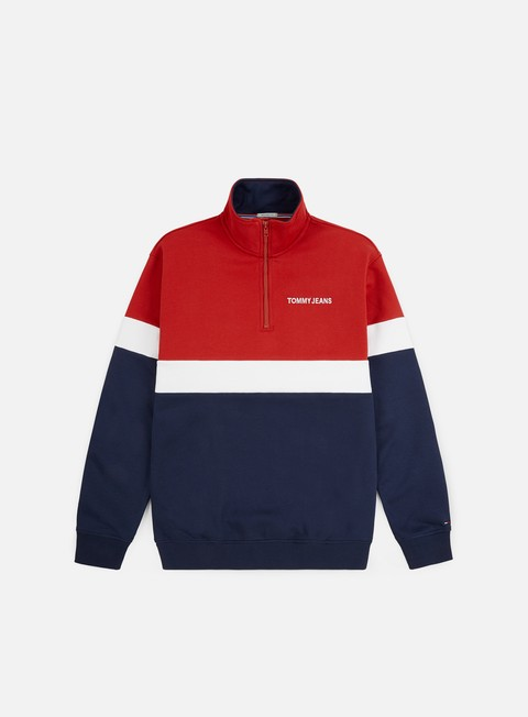 Zip Sweatshirts Tommy Hilfiger TJ Retro Mock Neck