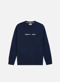 Tommy Hilfiger - TJ Small Logo Sweatshirt, Black Iris