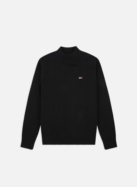 Outlet e Saldi Maglioni e Pile Tommy Hilfiger TJ Solid Mock Neck Sweater