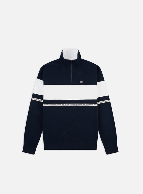 Felpe con Zip Tommy Hilfiger TJ Tape Zip Mock Neck