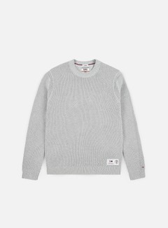 Tommy Hilfiger - TJ Textural Sweater, Light Grey Heather
