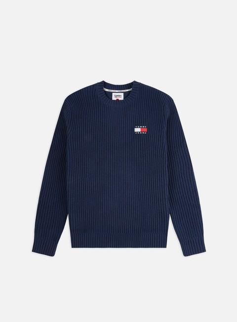 Outlet e Saldi Maglioni e Pile Tommy Hilfiger TJ Tommy Badge Sweater