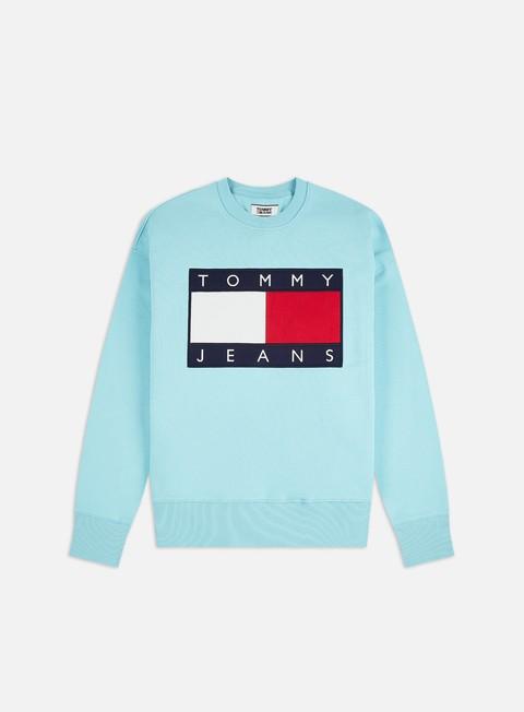 Logo Sweatshirts Tommy Hilfiger TJ Tommy Flag Crewneck
