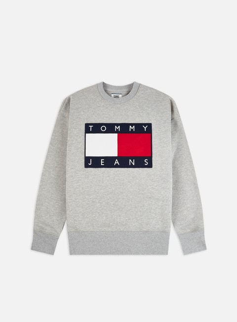 TJ Tommy Flag Crewneck