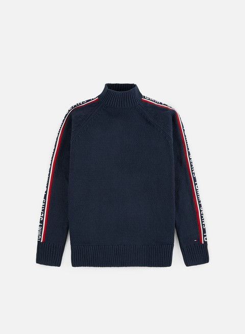 Outlet e Saldi Maglioni e Pile Tommy Hilfiger TJ Tommy Tape Sweater